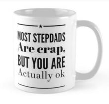 Load image into Gallery viewer, STEPDADS STEPFATHERS Fathers Day Coffee Mugs Presents Birthday Christmas - fair-dinkum-gifts