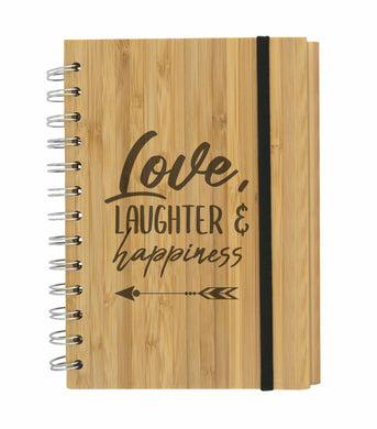 Eco Friendly Bamboo Mother's Day Gift Stationery Set