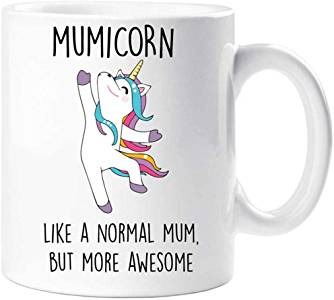Mumicorn Coffee Mug Mothers Day GIFT Like A Normal Mum But More Awesome FDG07-92-26007 - fair-dinkum-gifts