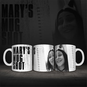 Personalised Name Mug Shot Coffee Mug Gift