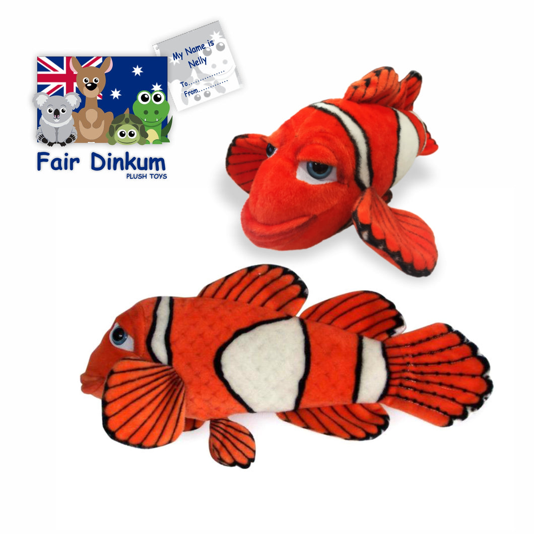 Nelly Nemo Plush Toy Australia - 45cm - fair-dinkum-gifts