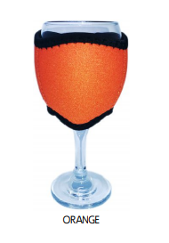 Wine Glass Cooler Drink Holder Neoprene Choose Your Designs Or Colours