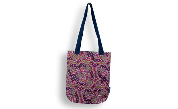 On Walkabout Wine Tote Bag