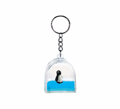 Oily Tower Key Rings Aussie Gifts Souvenirs Coloured Liquid with Animal Floater Keyrings - fair-dinkum-gifts