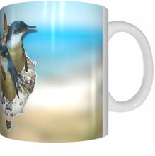 Load image into Gallery viewer, PENGUIN COUNTRY Mug Cup 300ml Gift Native Aussie Australia Animal Wildlife Birds Penguins - fair-dinkum-gifts