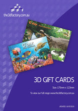 Load image into Gallery viewer, 3D Printed Australia Greeting Cards Aussie Australian Souvenirs CLEARANCE