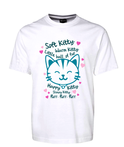 Happy Kitty Cute Kitten Tee T-Shirt