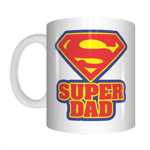 Super Dad Coffee Mug Superman Gift For Superdads On Father's Day FDG07-92-26041