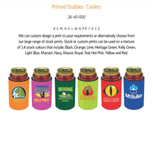 Load image into Gallery viewer, Any Design Stubby Holder Customised Personalised