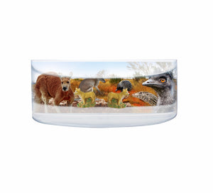 Oily Rectangular Curved Magnets Aussie Designs Australian Animals Gifts - fair-dinkum-gifts