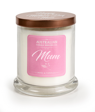 Happy Mother's Day Mum Soy Scented Candle Gift For Mum