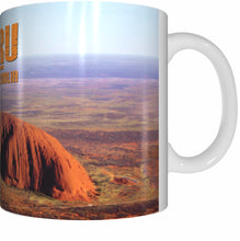 Load image into Gallery viewer, ULURU CENTRAL AUSTRALIA Mug Cup 300ml Gift Aussie Australia Northern Territory Ayers Rock - fair-dinkum-gifts