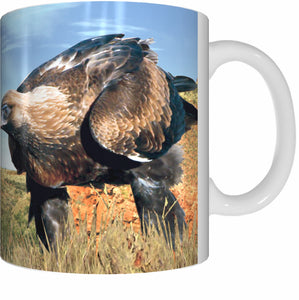 WEDGE TAIL EAGLE Mug Cup 300ml Gift Native Aussie Australia Animal Wildlife Birds Eagles - fair-dinkum-gifts