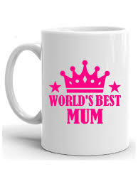 Worlds Best Mum Coffee Mug Mothers Day GIFT