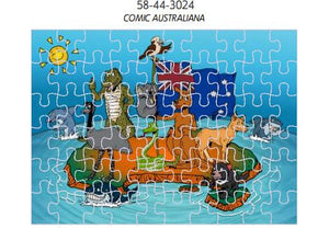 *CLEARANCE* 3D Jigsaw Puzzles Tins 60pc Aussie Animals Australian Games Stay At Home Activities