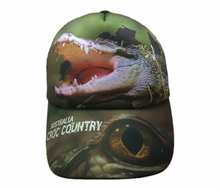 Load image into Gallery viewer, Croc Country Australia Cap Adults And Kids Sizes