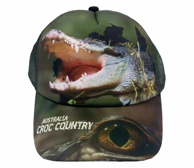 Croc Country Australia Cap Adults And Kids Sizes