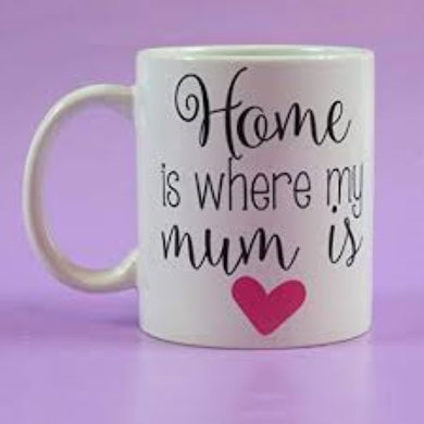 Home Is Where My Mum Is Mother's Day Mug