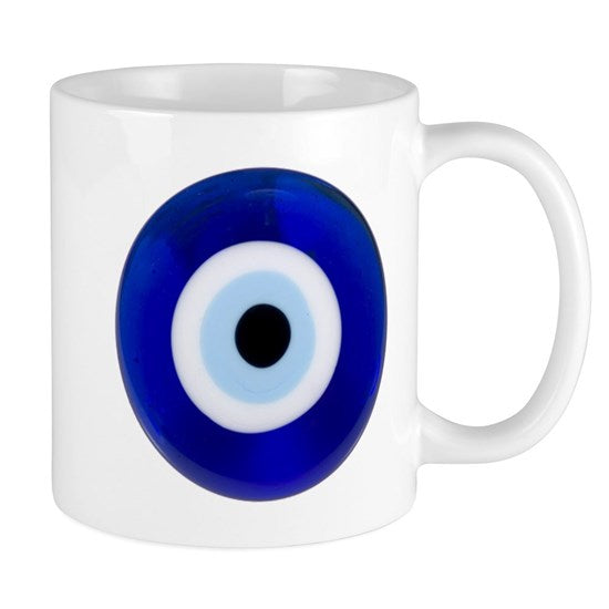 Evil Eye Mug Coffee Gift Present Novelty Greek Mati Cup