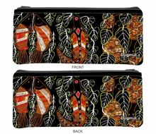 Load image into Gallery viewer, Large Neoprene Pencil Case Stationery or Make Up Bag Australian Travel Case Aussie Design - fair-dinkum-gifts