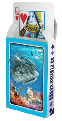 **CLEARANCE** 3D Deck of Playing Cards Aussie Animals Australian Themes Souvenir Pack