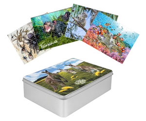 3D Jigsaw Puzzles Tins 60pc Aussie Animals Australian Games **NEW - JUST ARRIVED** - fair-dinkum-gifts