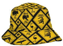 Load image into Gallery viewer, BUCKET HAT PRINTED VARIOUS DESIGNS - fair-dinkum-gifts