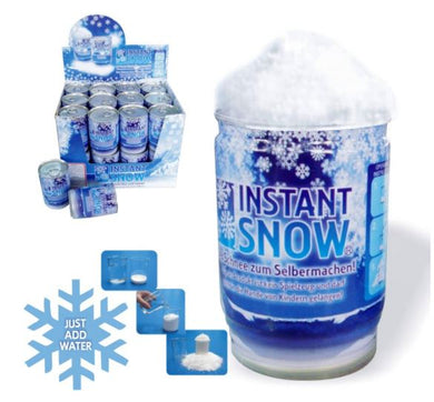 Instant Snow In A Can Just Add Water Non Toxic - fair-dinkum-gifts