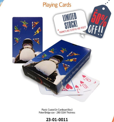 Snow Sports Deck of Playing Cards - fair-dinkum-gifts