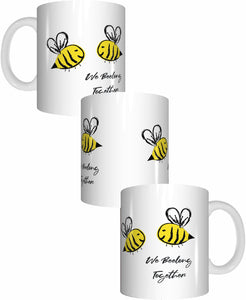 Bee Mug We Beelong Together Valentines Day Coffee Mug Gift Romantic Present