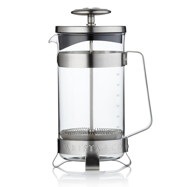 3 Mug/8 Cup Coffee Press - Electric Steel