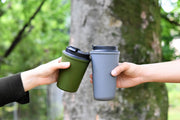 Rivers Wallmug Sleek Reusable Travel Coffee Cup (Cappuccino Size - 350ML)
