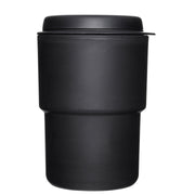 Rivers Wallmug Demita Reusable Coffee Cup (Flat White Size - 300ml) - Black