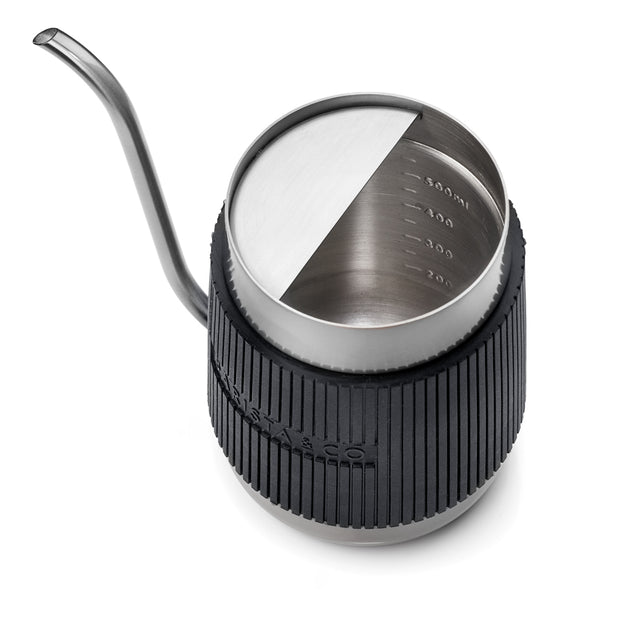 Shorty Stainless Steel Pour Over Jug - Steel (600ml)