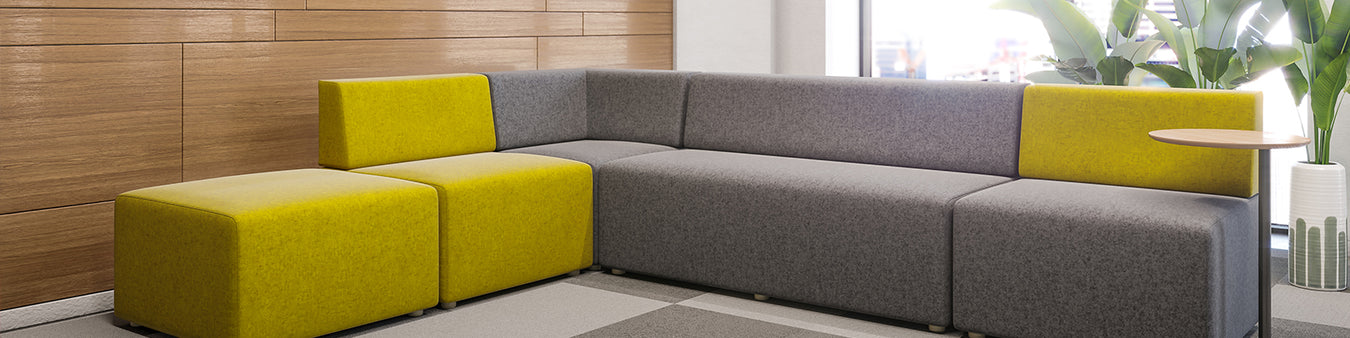 Soft Seating and Ottomans for Office Spaces