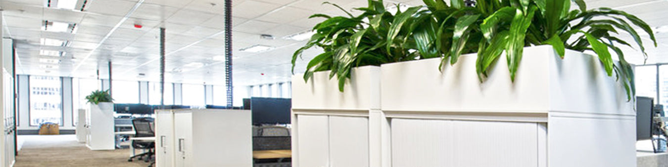 Office Tambours and Planters
