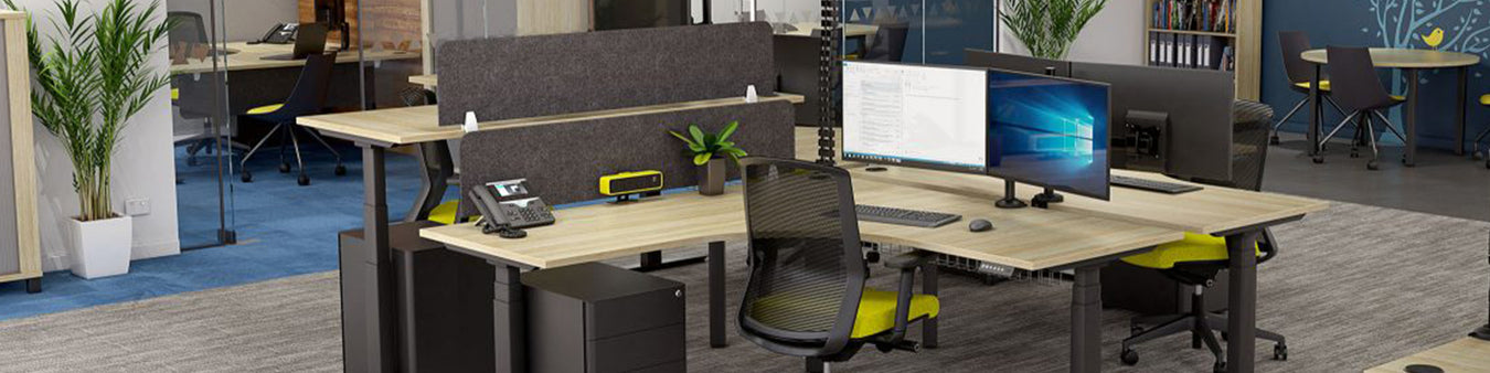 Desktop Mounted Office Partitions