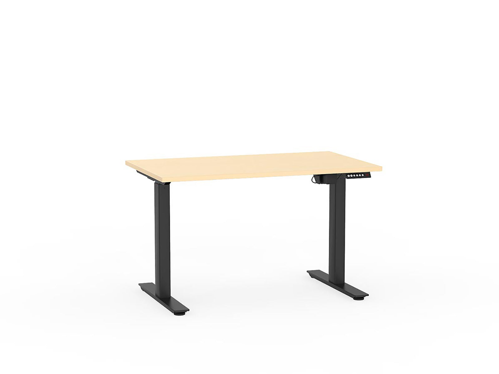 Agile Black Electric Height Adjustable 1.2m Desk