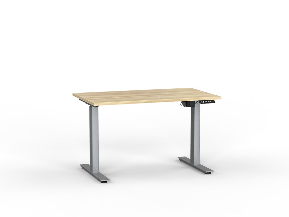 Agile Silver Electric Height Adjustable 1.2m Desk