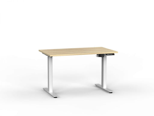 Agile White Electric Height Adjustable 1.2m Desk