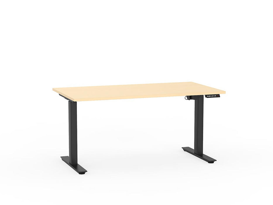 Agile Black Electric Height Adjustable 1.5m Desk