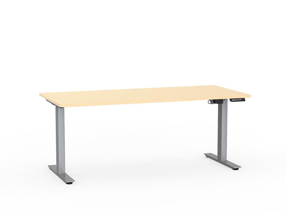 Agile Silver Electric Height Adjustable 1.8m Desk