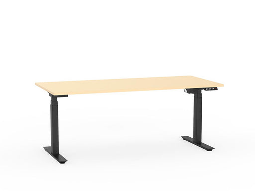 Agile Black Electric Height Adjustable 1.8m Desk