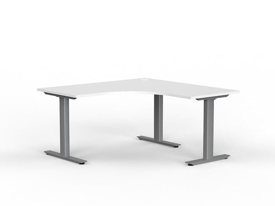 Agile Silver Fixed 1.5m Workstation