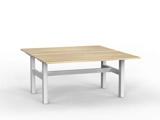 Agile White Fixed 1.5m Double Desk