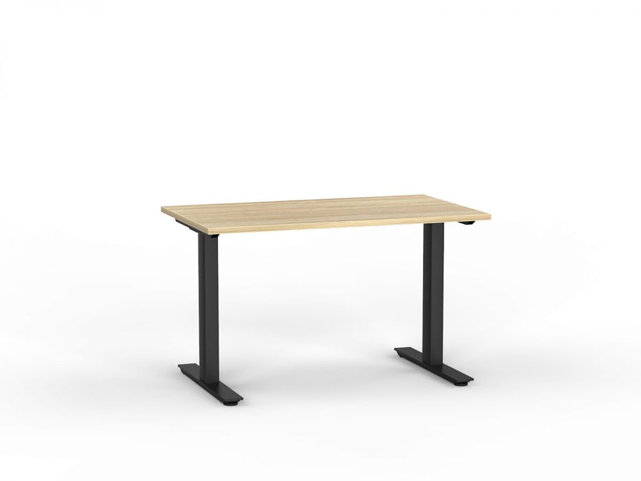 Agile Black Fixed 1.2m Desk