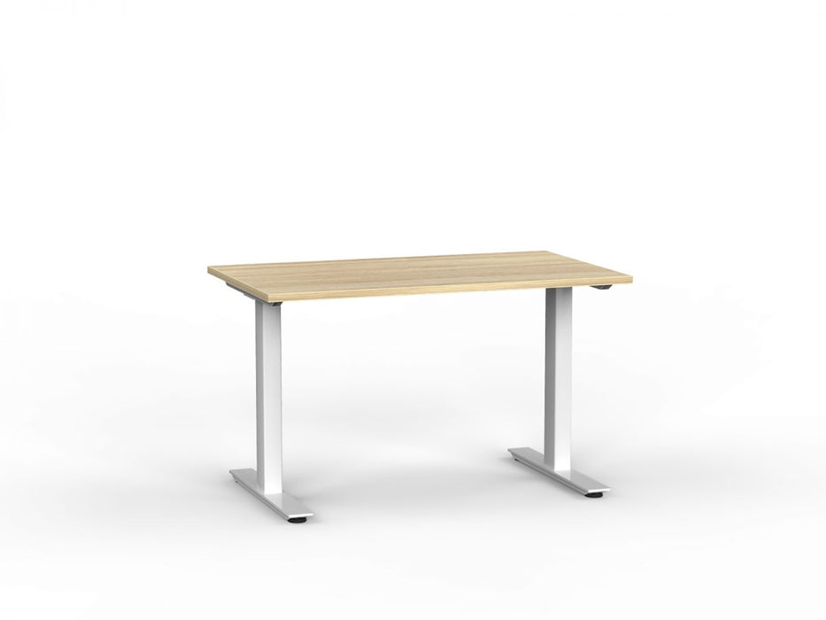 Agile Silver Fixed 1.2m Desk - Workspace Furniture Home and Office Desk