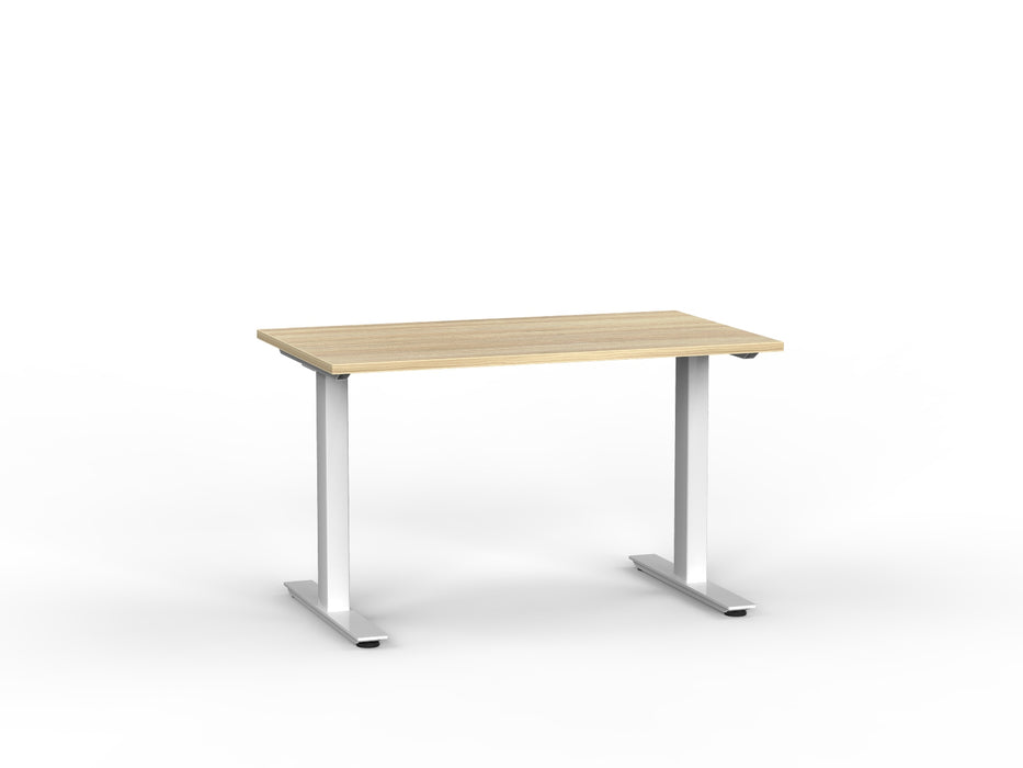 Agile White Fixed 1.2m Desk