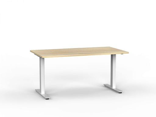 Agile White Fixed 1.5m Desk