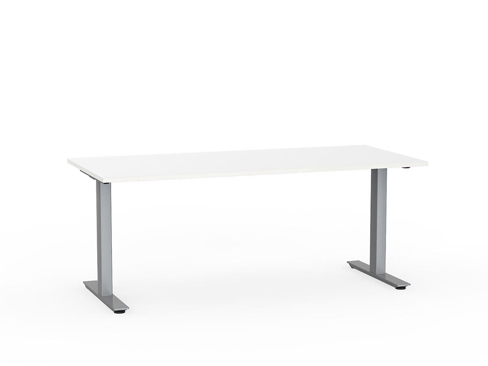 Agile Silver Fixed 1.8m Desk